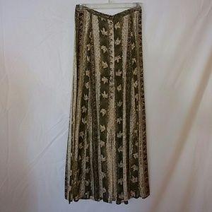 Midi length skirt for spring or fall